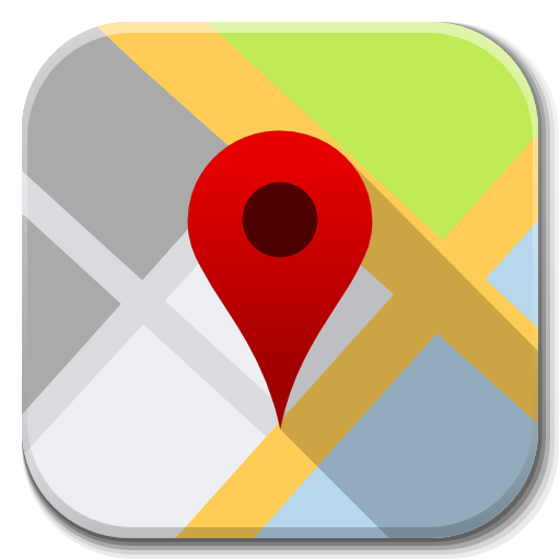 Apps Google Maps Icon Flatwoken Iconset Alecive