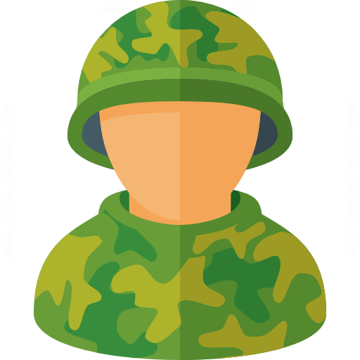 Iconexperience G Collection Soldier Icon