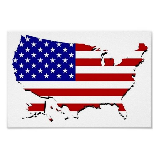 Us Flag Map Posters Planes Map, Flag And Travel
