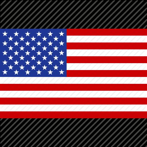 America, American, Flag, States, United, Us, Usa Icon