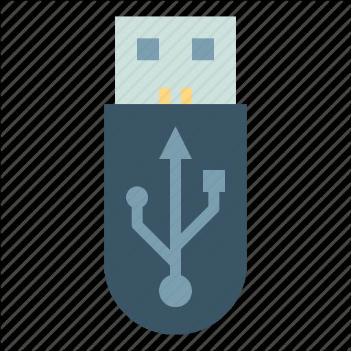 Data, Drive, Flash, Storage, Transfer, Usb Icon