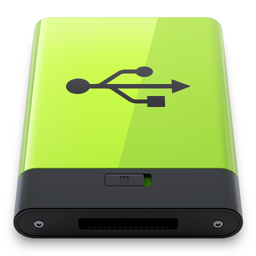 Green Usb Icon Free Download As Png And Icon Easy