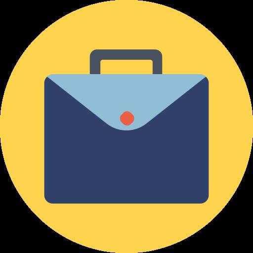 Briefcase, Case, Job, Work Icon