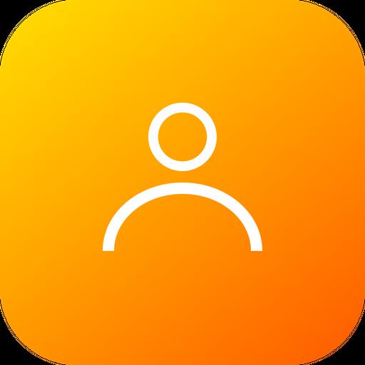 User, Man, Contact, Profileoutline, Account, Interface