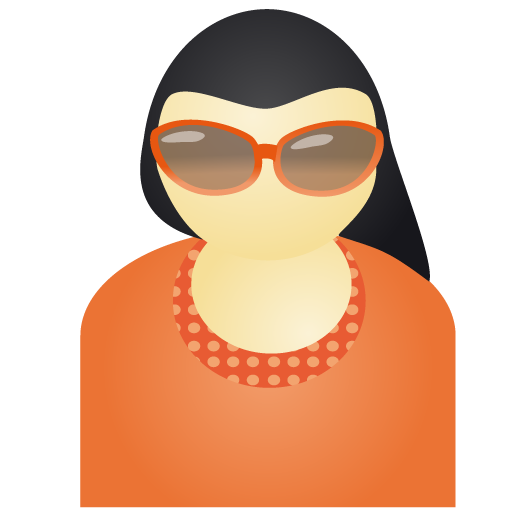 Free Sunglass Woman Red Account Person People Human User