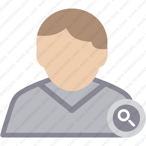 Download User Find,man,male,person,profile Icon Inventicons