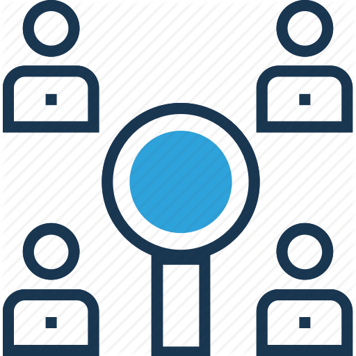Find Person, Find User, Search Person, Search User, User Research Icon