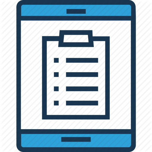 Clipboard, Mobile, Quality, Testing, User Testing Icon