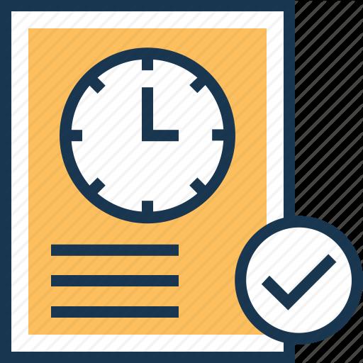 Clock, Duration, Testing, User Testing, Verified Icon