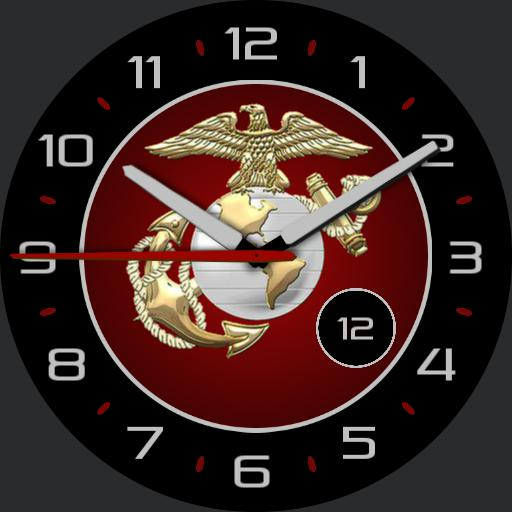 Usmc Silver For Huawei Watch