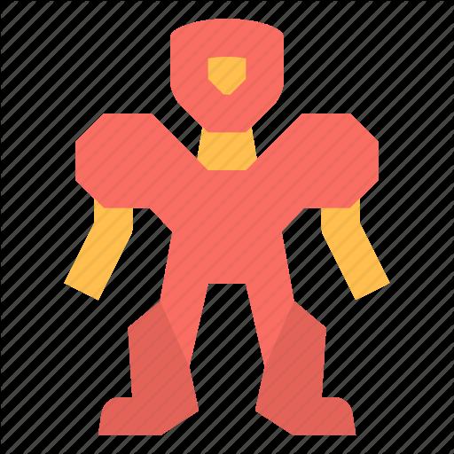 Exoskeleton, Robot Icon