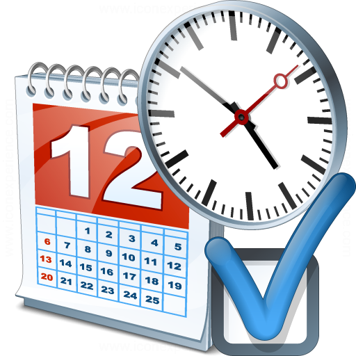 Iconexperience V Collection Date Time Preferences Icon