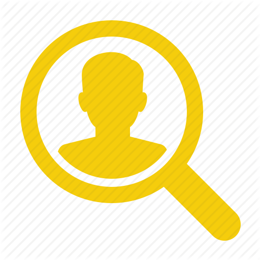 Human Resources, Market Research, Search, Vacancy Icon