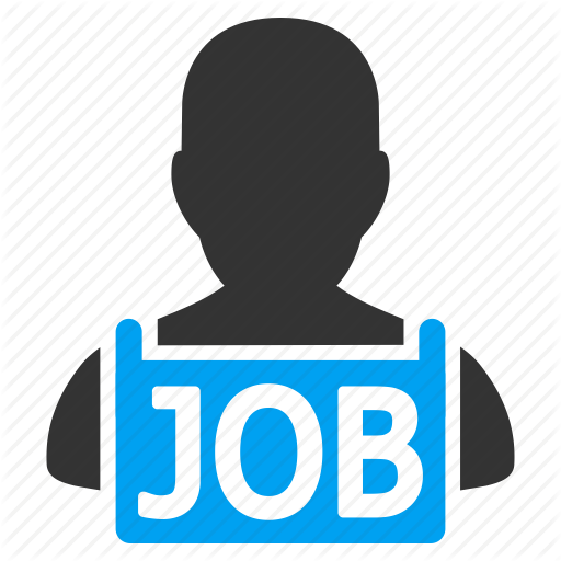 Recruit, Recruitment, Resume, Unemployed, Vacancy, Work, Worker Icon