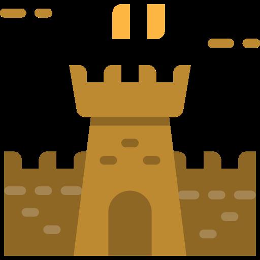 Sand Castle Castle Png Icon