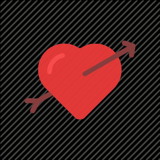 Arrow, Couple, Fall In Love, Heart, Love, Valentine, Valentine