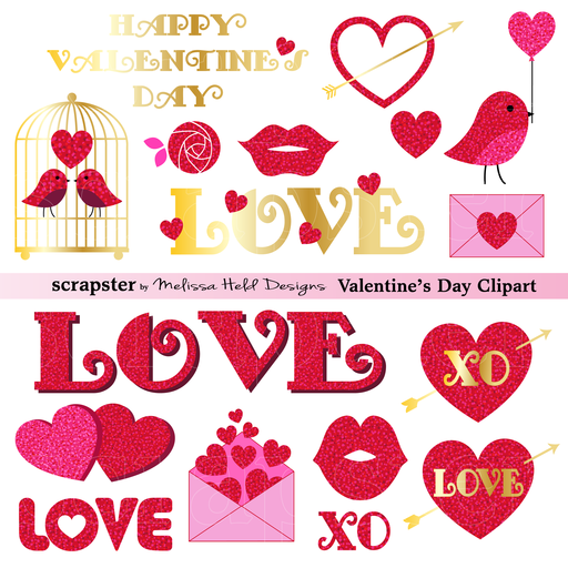 Valentine's Day Cliparts Tagged Icons Party Mygrafico