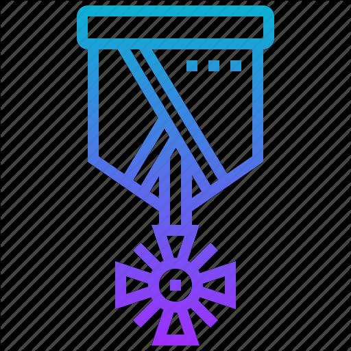 Badge, Medal, Military, Tag, Valor, War Icon