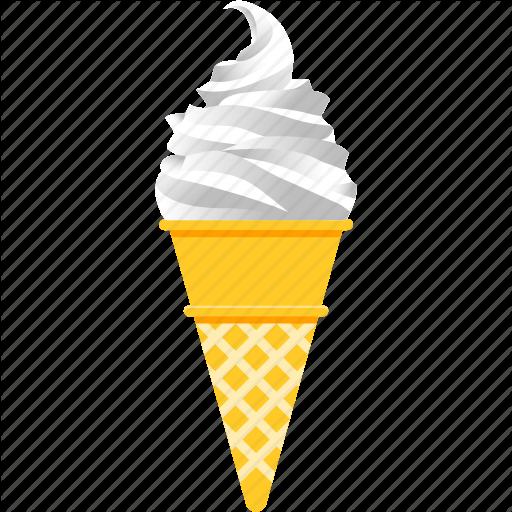 Corn, Dessert, Ice Cream, Snack, Soft Serve, Summer, Vanilla Icon