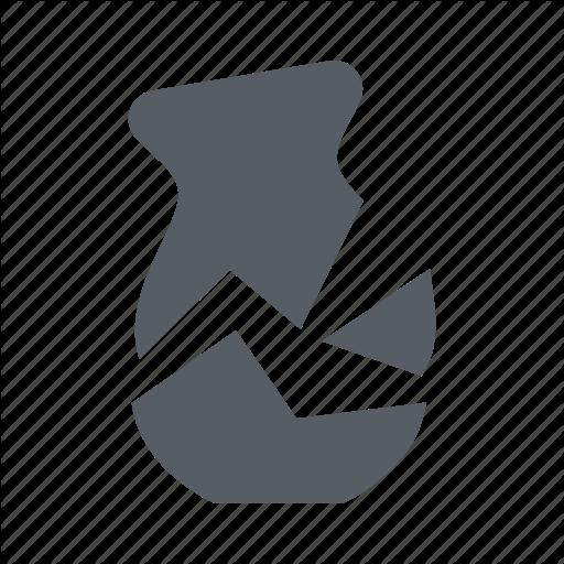 Broken, Fragile, Logistics, Protect, Shipping, Vase Icon