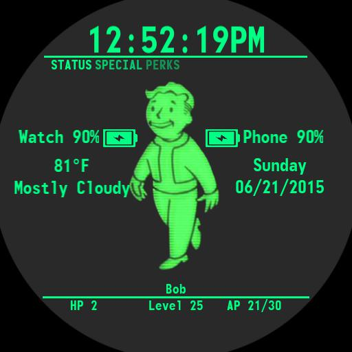 Faces With Tag Pip Boy