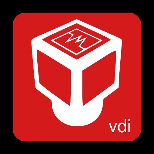 Virtualbox, Vdi Icon Free Of Super Flat Remix Mimetypes