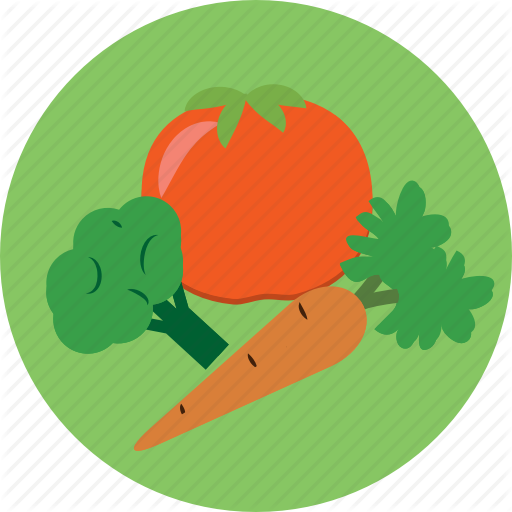 Food, Fruit, Healthy, Vegetables Icon