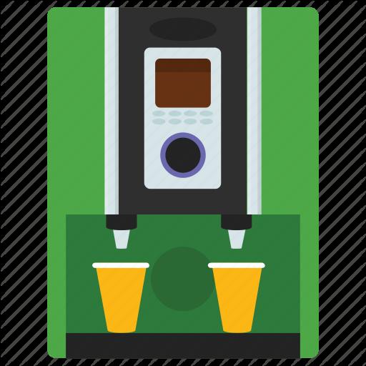 Automated Machine, Beverage Vending, Coffee Machine, Kiosk Machine