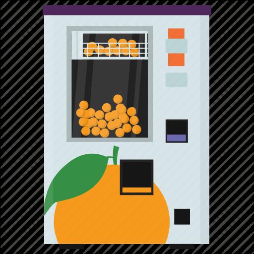 Automated Machine, Coin Machine, Fruit Vending, Kiosk Machine