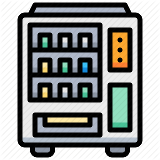 Box, Can, Machine, Vending Icon