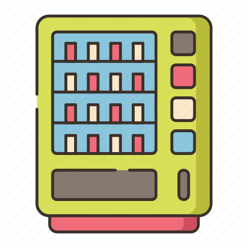 Dispenser, Machine, Vending, Vending Machine Icon