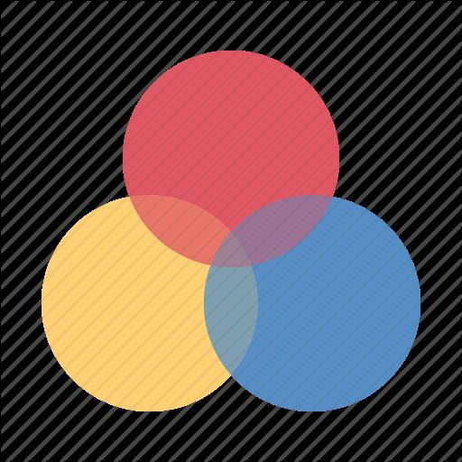 Analysis, Logic Diagram, Venn Diagram Icon
