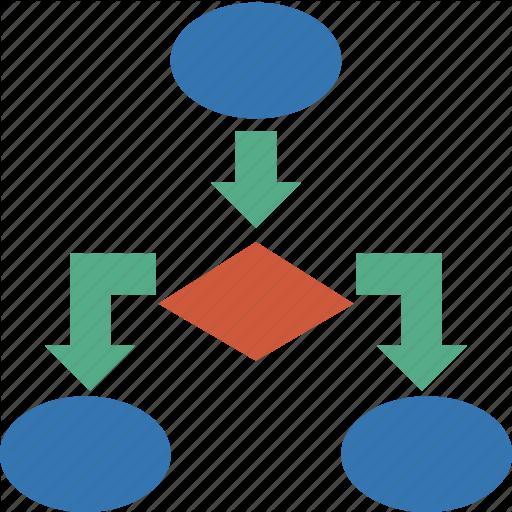 Heat Flow Diagram Icon