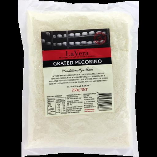 La Vera Cheese Pecorino Grated