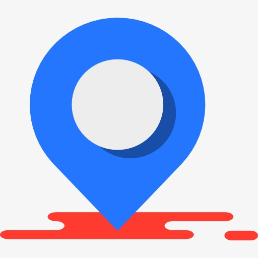 Blue Location, Location Clipart, Symbol, Map Png Image And Clipart
