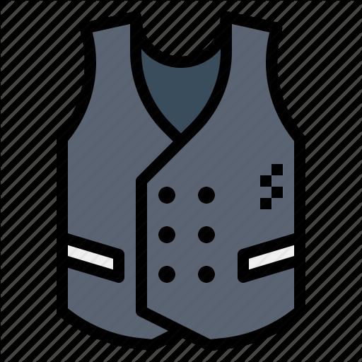 Clothing, Fashion, Suit, Vest, Waistcoat Icon