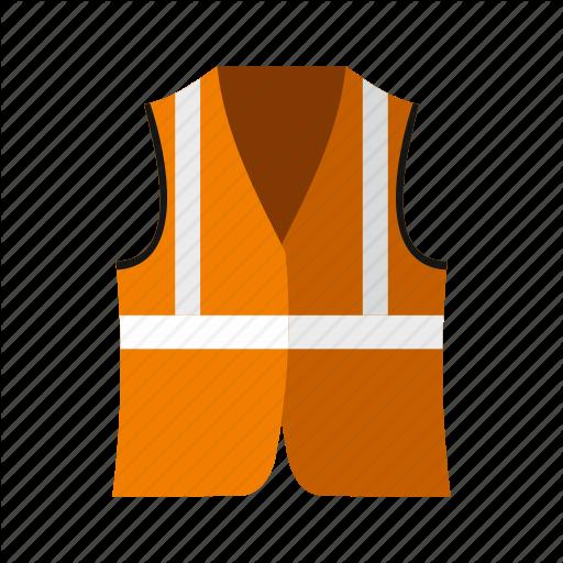 Jacket, Protective, Reflective, Rescue, Safe, Safety, Vest Icon