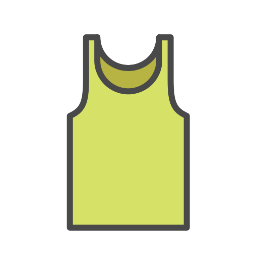 Mens, Vest Icon Free Of Clothing Icons Fill Color