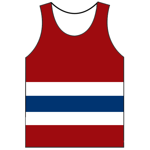 Cropped Running Vest Icon North Shields Polytechnic Club