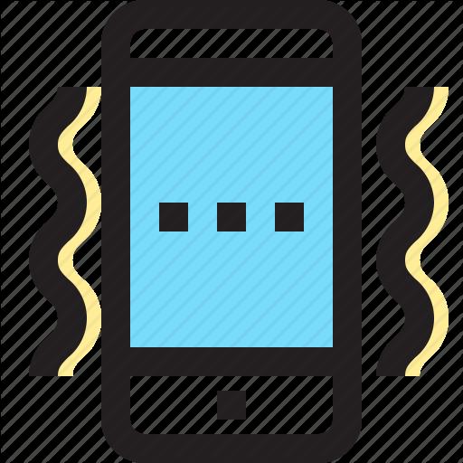 App, Contact, Mobile, Smartphone, Vibration Icon