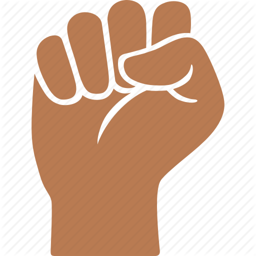 Black, Fist, Hand, Power, Solidarity, Strength, Victory Icon