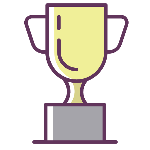 Trophy, Victory, Champion Icon Free Of Line Color Mix Icons
