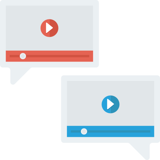 Videocall Icon Seo And Marketing Dinosoftlabs