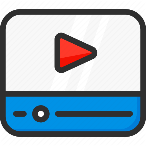 Clip, Movie, Player, Video Icon