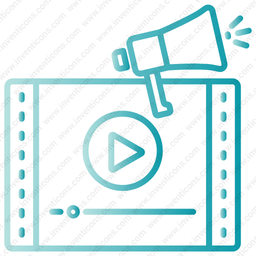 Download Video,music,video Marketing,media,play Icon Inventicons