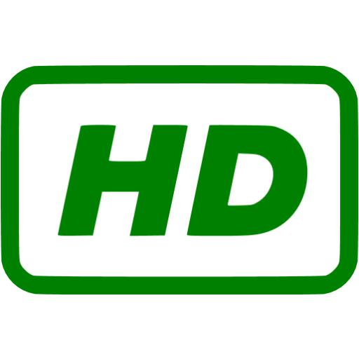 Green Video Hd Icon