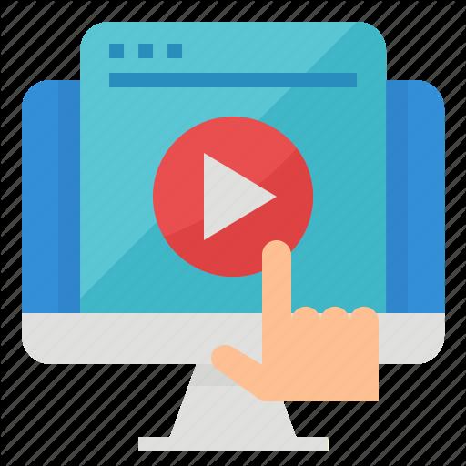 Content, Data, Marketing, Video Icon