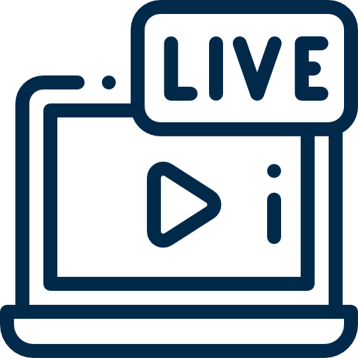 Icon For Live Video