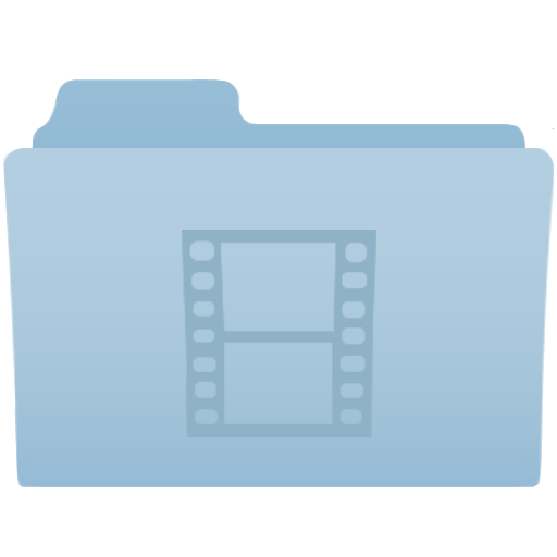 Folder, Video Icon Free Of Desktop Icons
