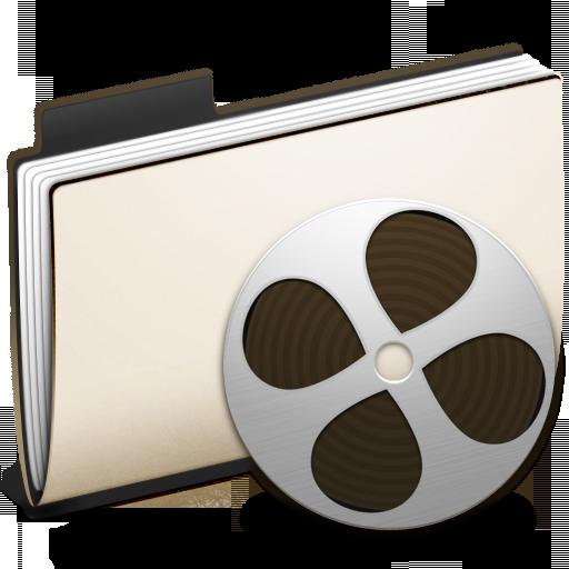 Folder Video Icon Chakram Iconset Apathae